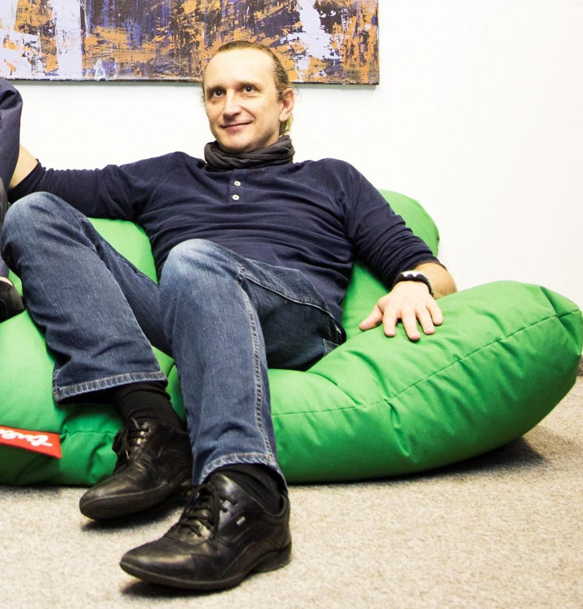 Peter Gabriž stál pri vzniku startupového ekosystému na Slovensku, dnes vedie inovačné štúdio The Booster Labs. Foto: archív Forbes