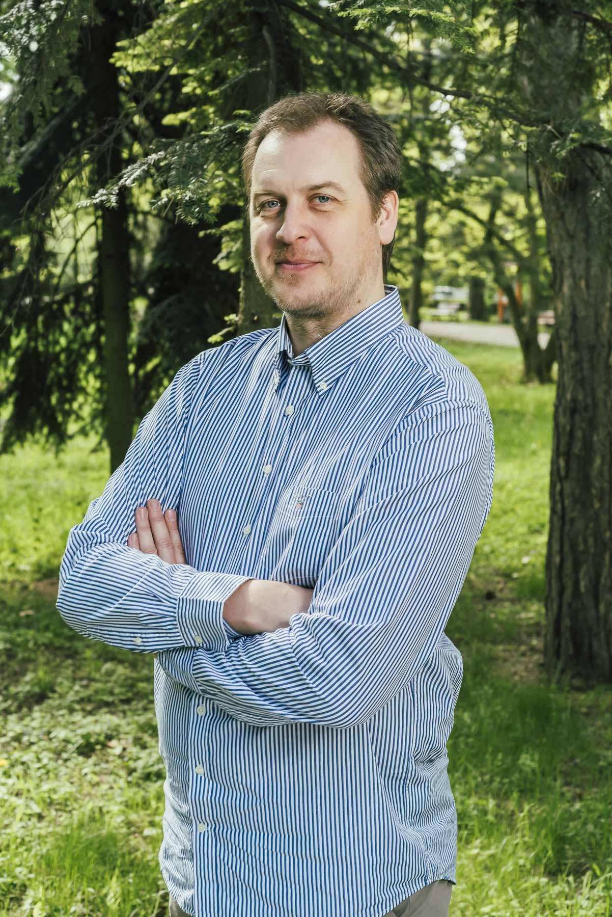 Martin Ondrejkovič vyhorel počas jeho práce psychiatra. Na dlhých 12 rokov presedlal na koučovanie, až kým sa bol pred dvoma rokmi schopný vrátiť späť do nemocnice ako lekár. Foto: Martin Ondrejkovič (archív)