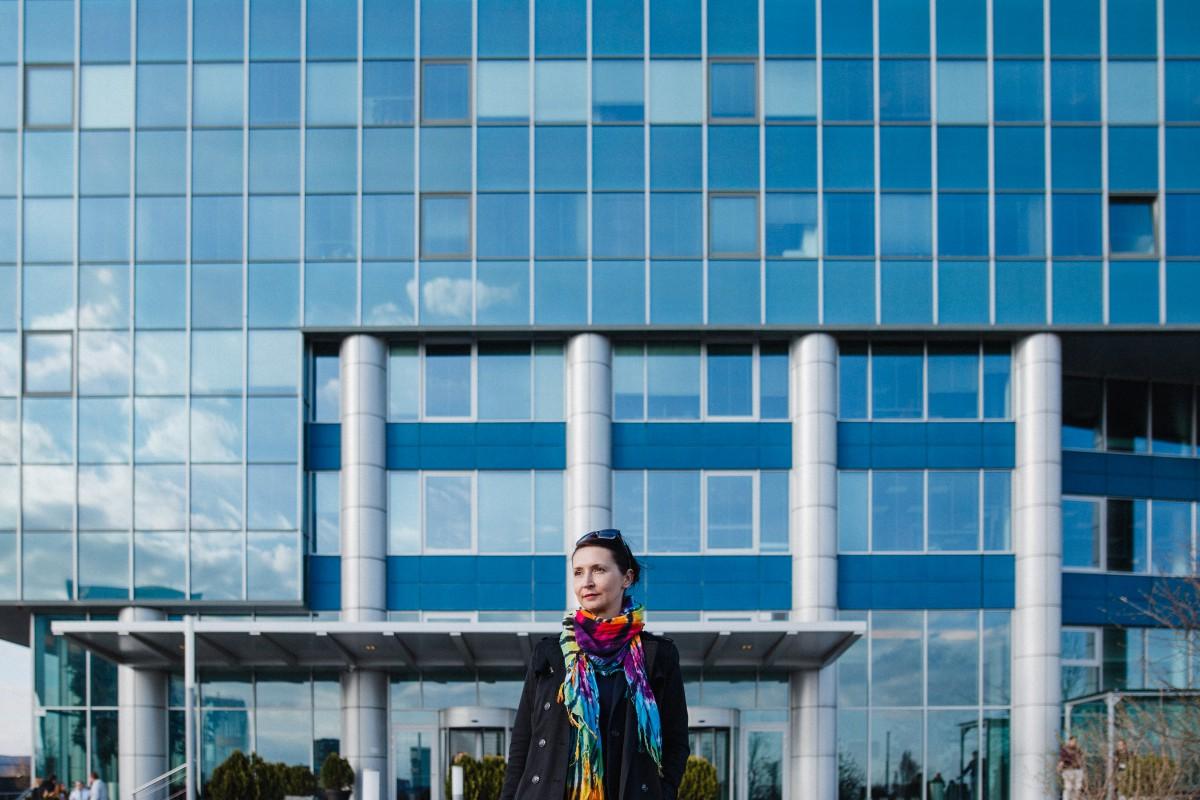 Zuzana Reľovská dnes pôsobí ako biznis konzultantka. Hovorí, že s vyhorenými manažérmi sa stretáva čoraz častejšie. Foto: Dominik Sepp
